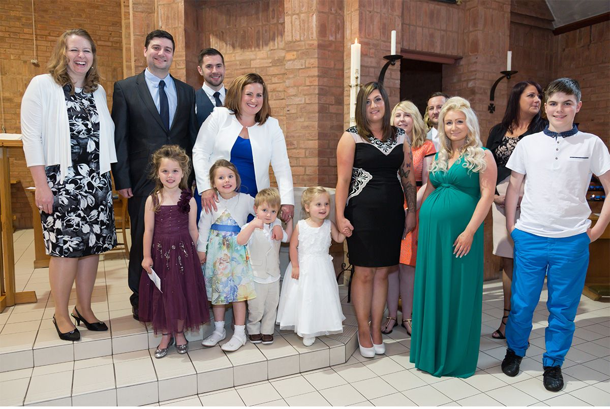 christening photographer Blackpool
