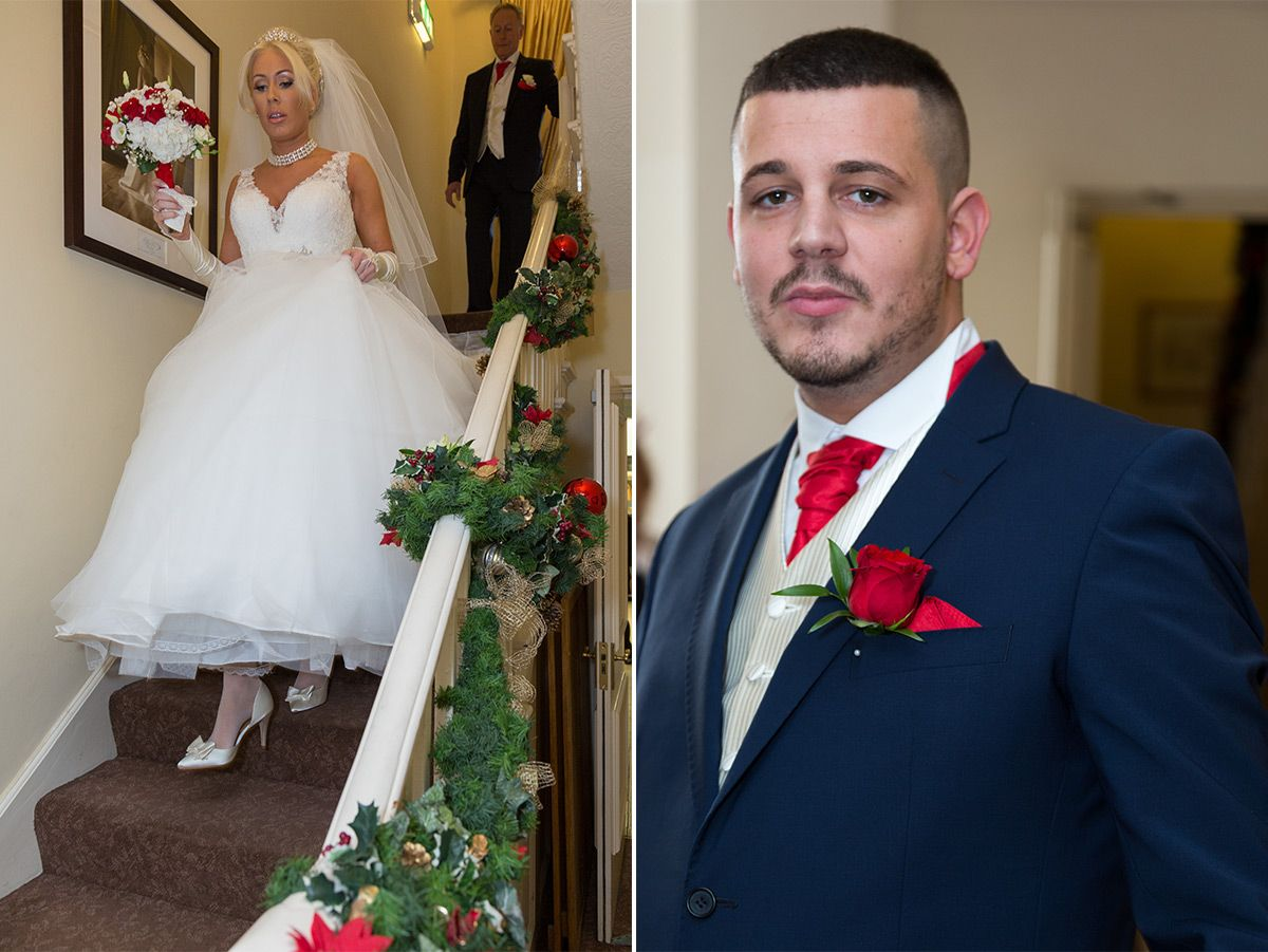 Mickey and Lydia wedding Lancashire Singleton Lodge