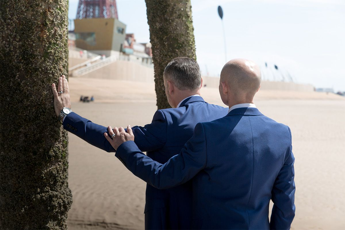 festival house gay wedding blackpool