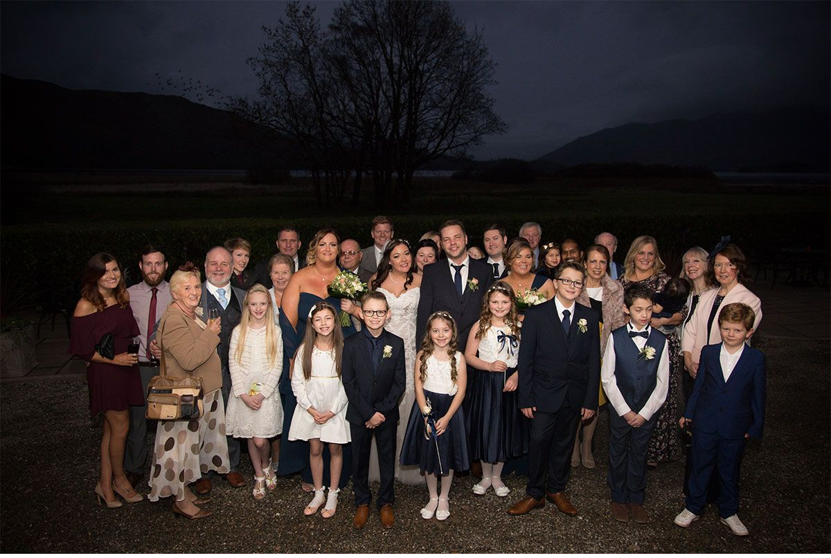 Chris and Rebecca Lodore Falls Hotel Wedding Keswick