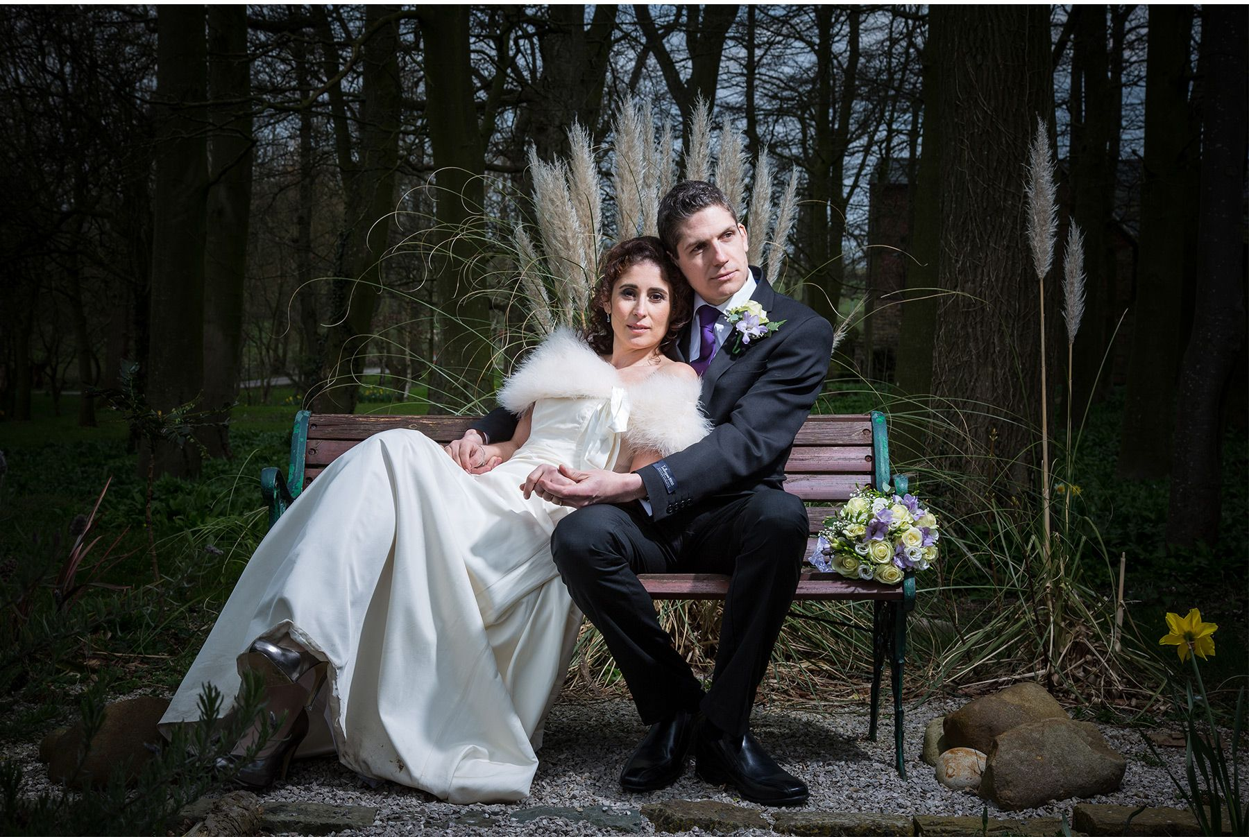 Mark and Despoina Thurnham Hall Wedding Lancaster 01