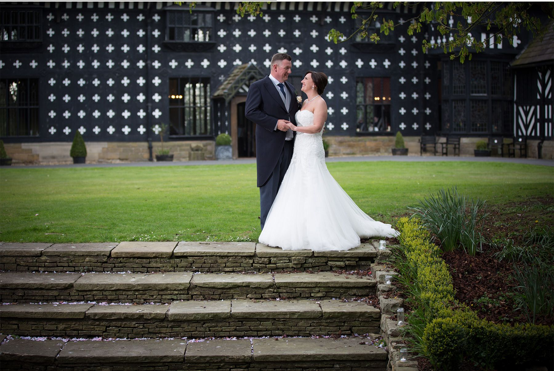 Samlesbury Hall Preston Wedding Photographer