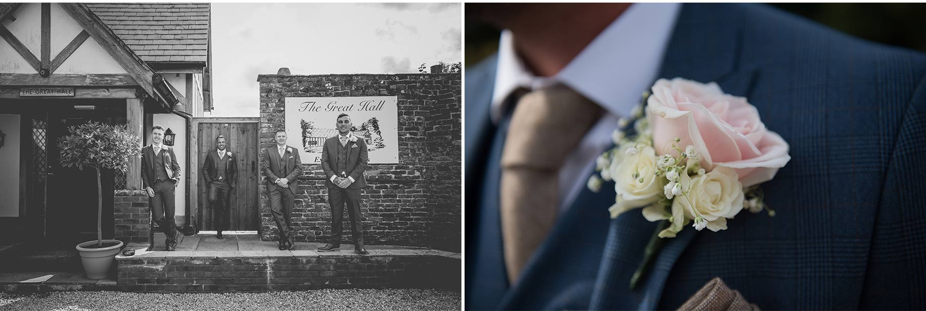 Blu & Thierry Mains Hall Wedding