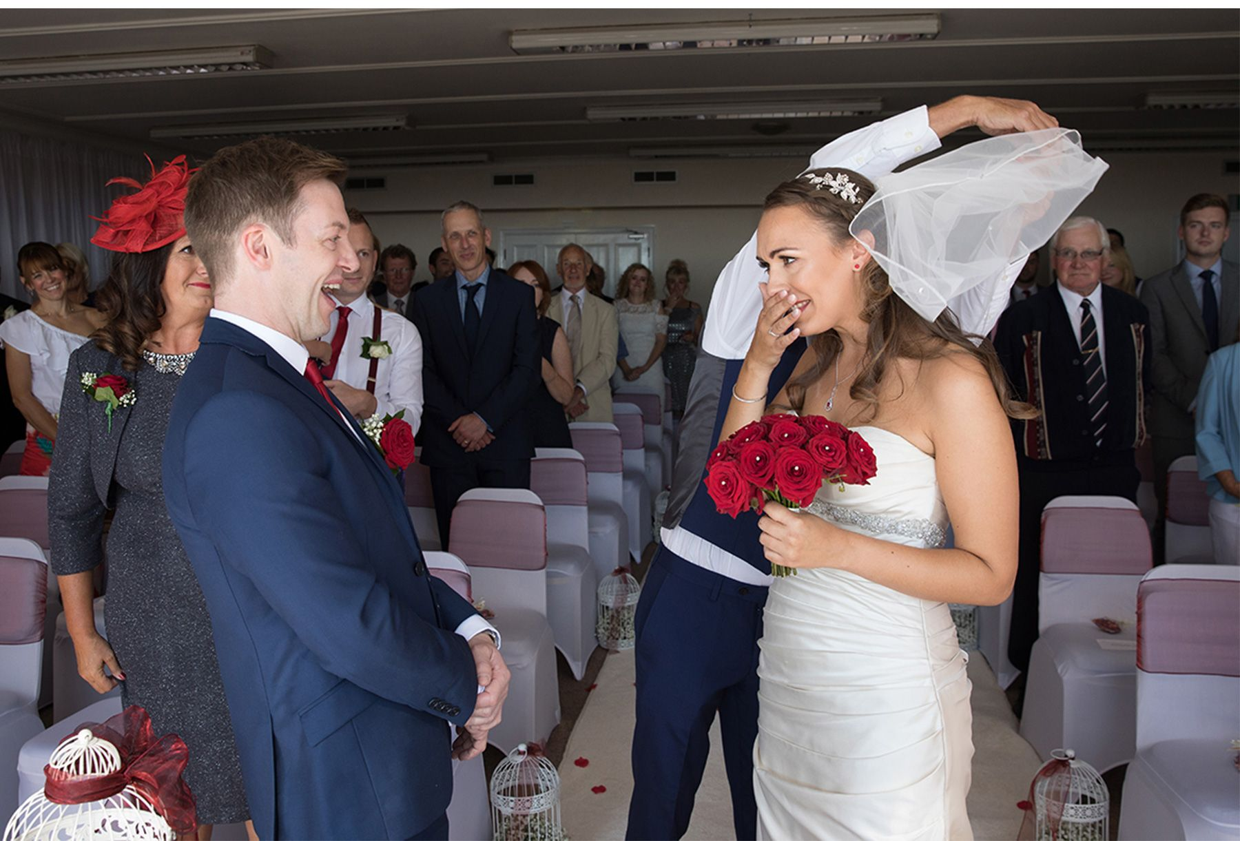 Chris and Katie Dalmeny Hotel Wedding