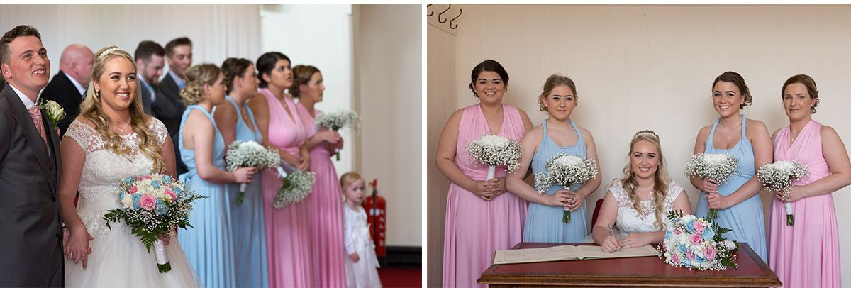 Blackpool wedding photography Declan and Chloe wedding