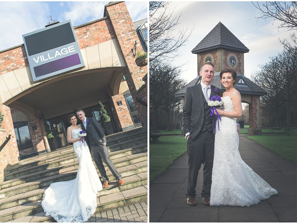 Frankie & Emily The Village Hotel Wedding Blackpool