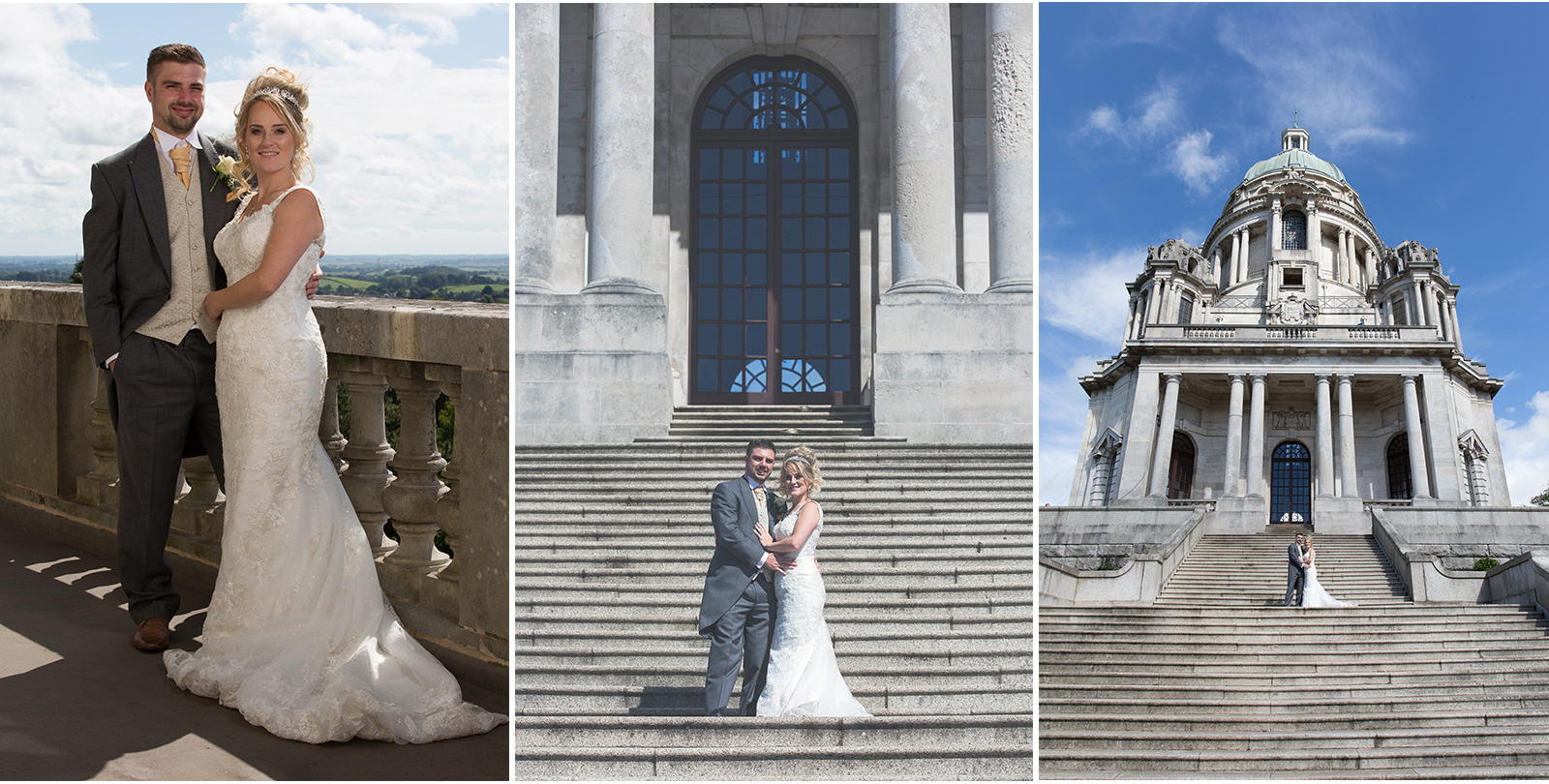 John & Nikkita Lancaster Ashton Memorial Wedding