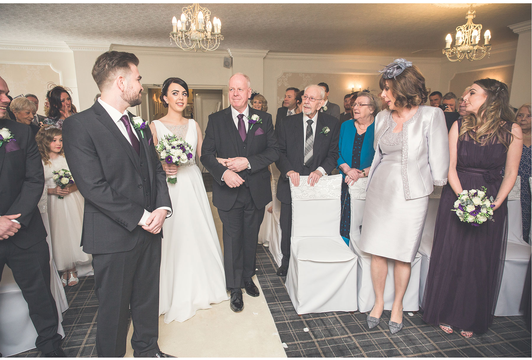 James and Sophie Singleton Lodge Wedding