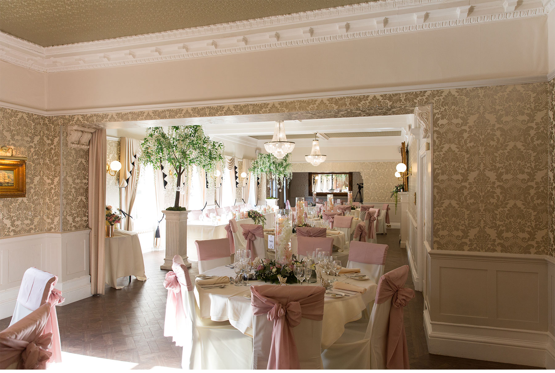 Bartle hall wedding room