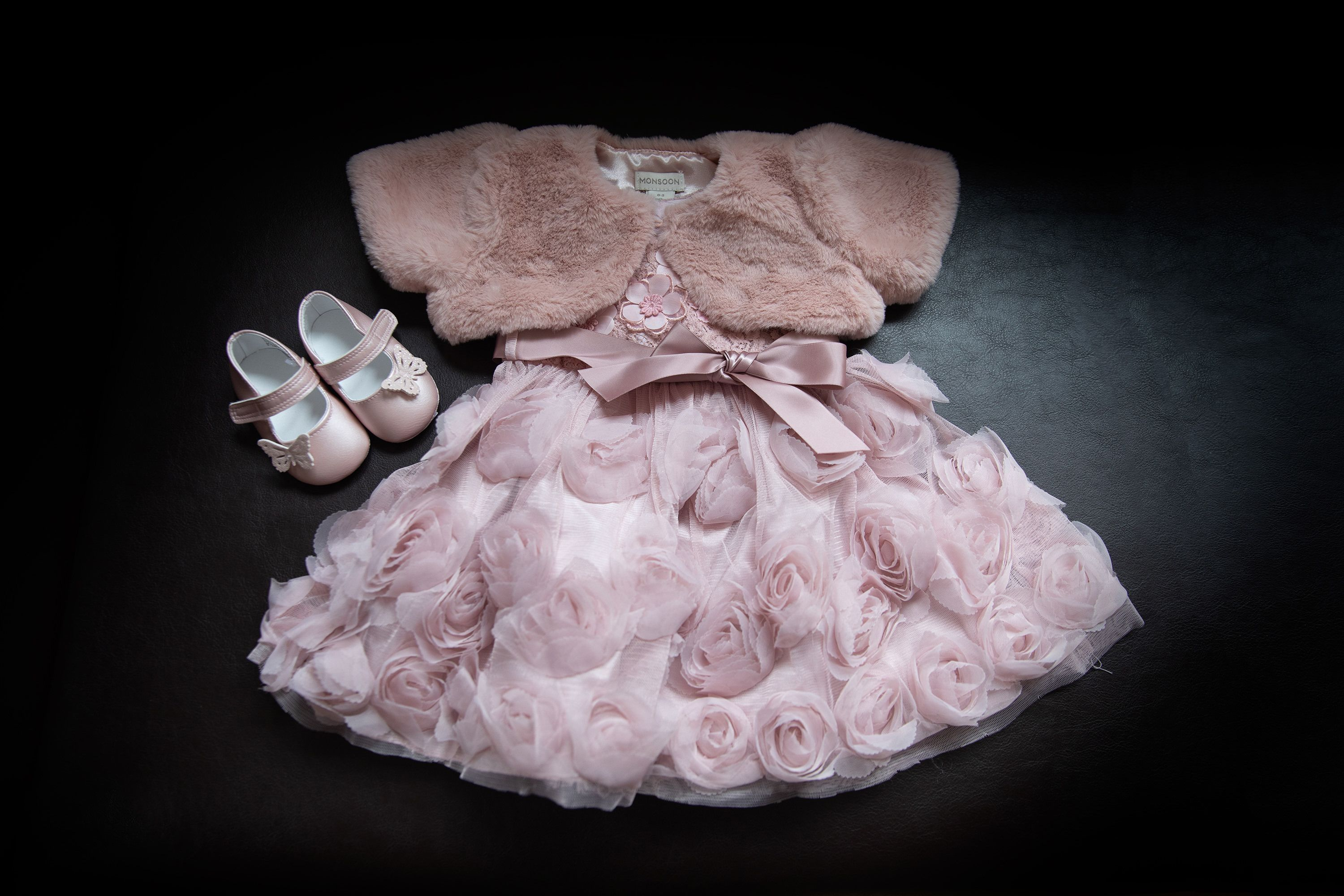 the flower girls dress
