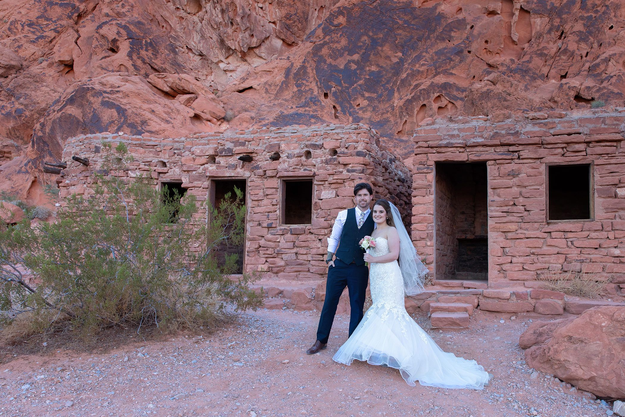 Valley of Fire ruins