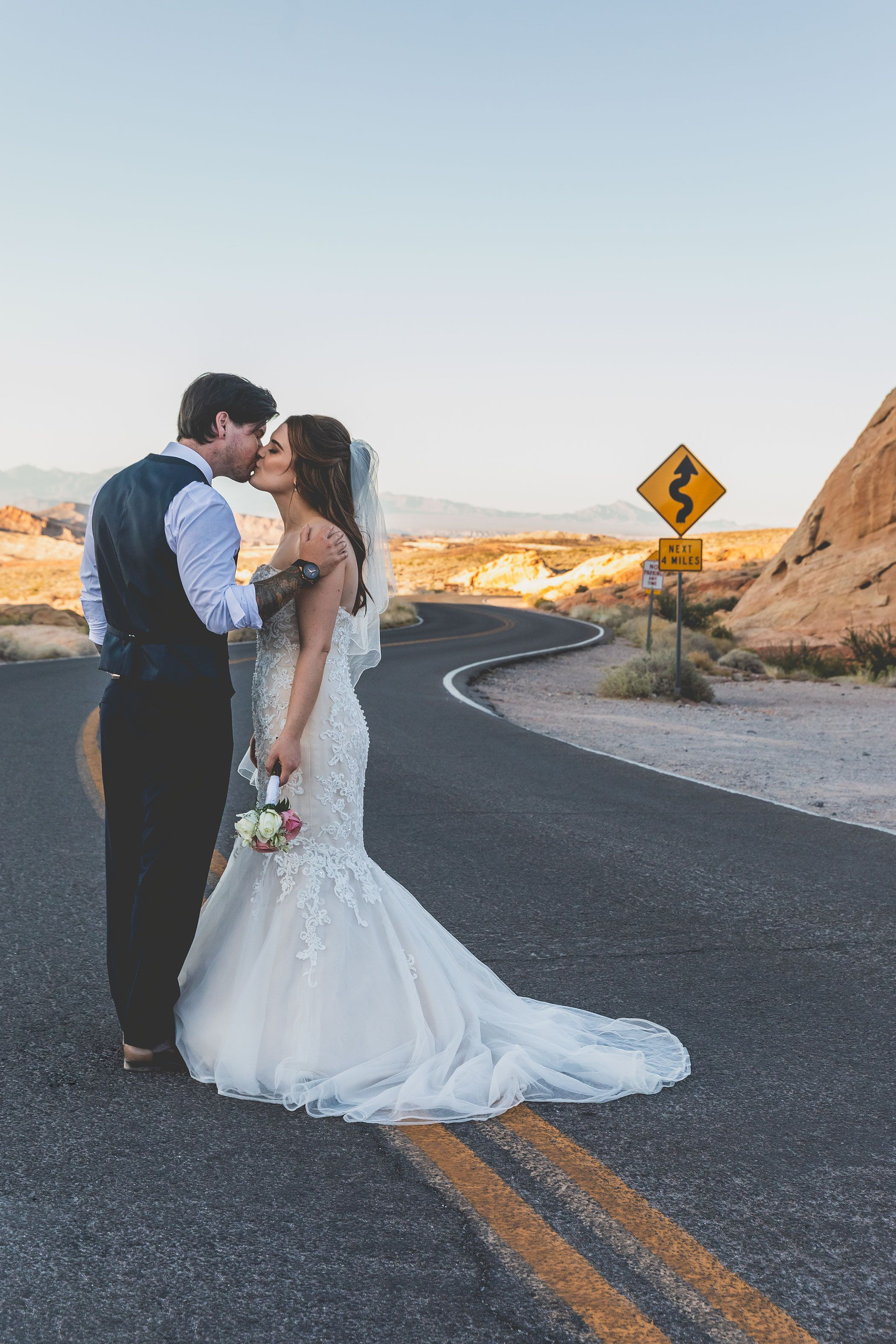 beautiful wedding photography valley of fire