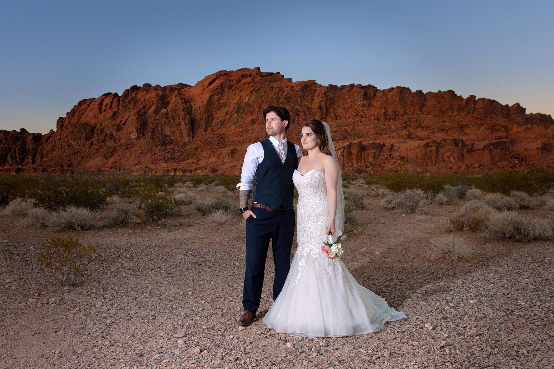 sunset wedding photography valley of fire