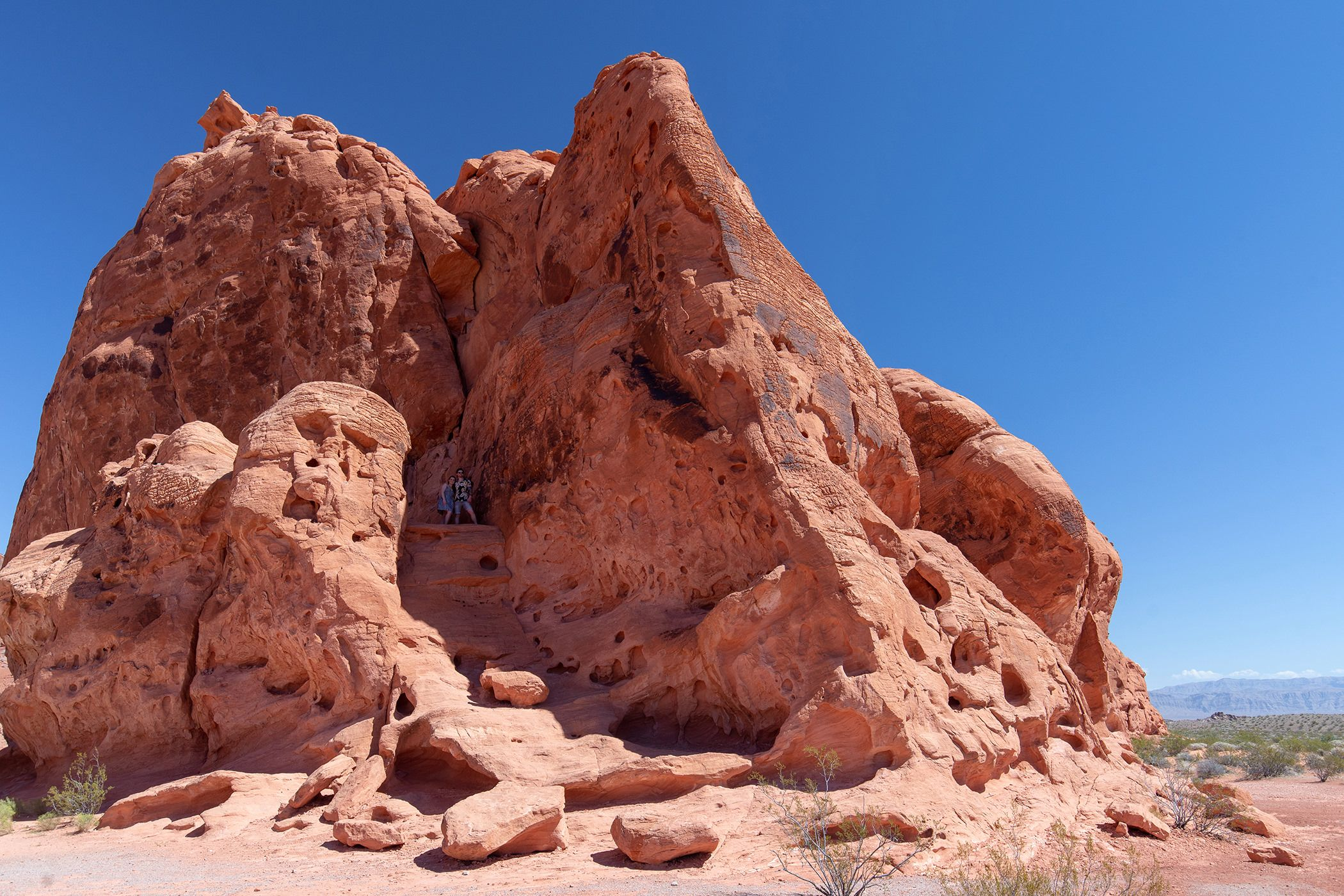 Seven sisters valley of fire