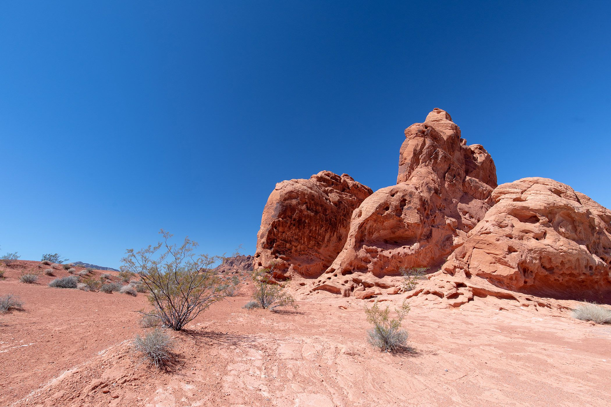 valley of fire landscape photo
