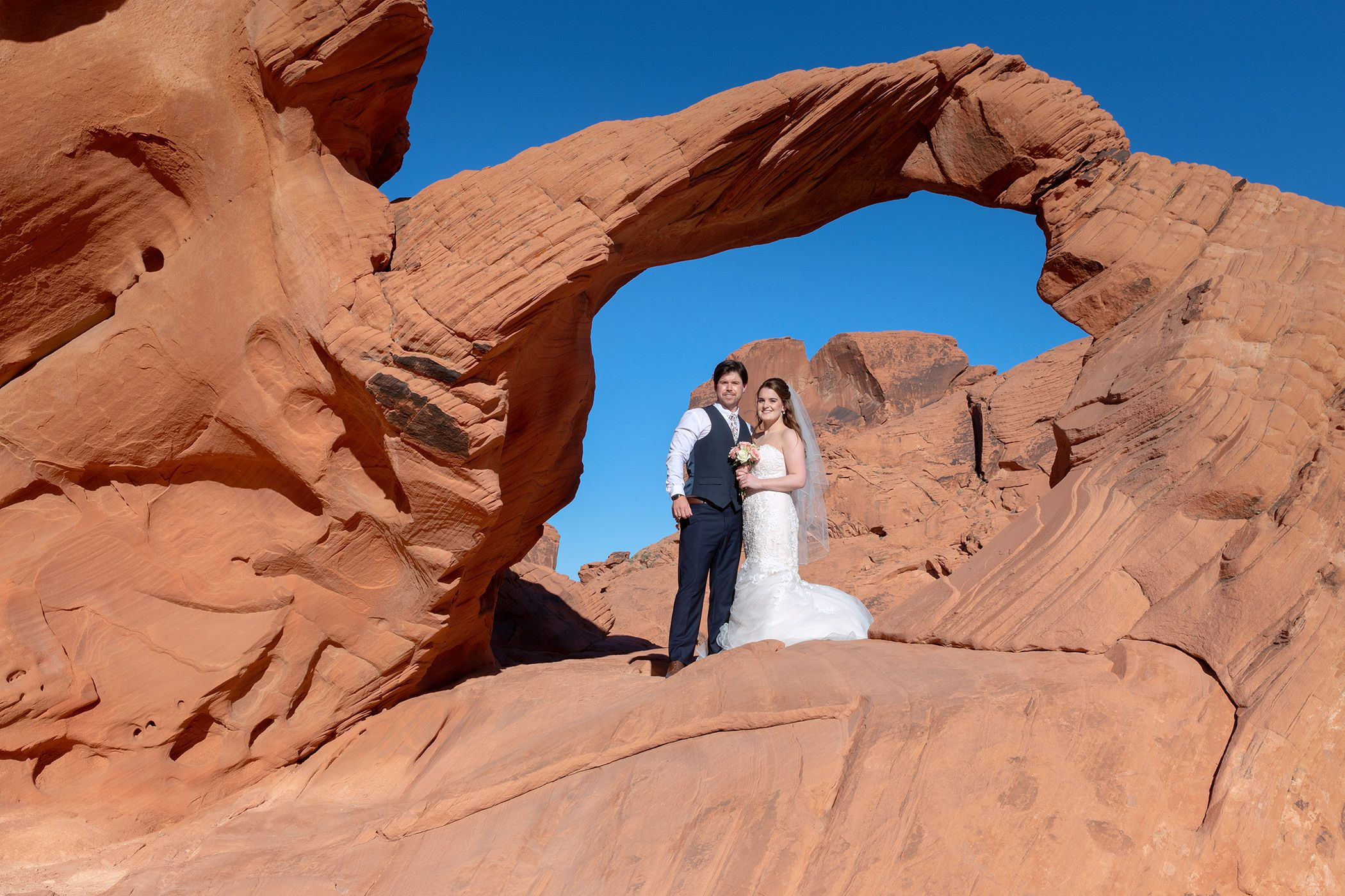 The Arch Rock in the Valley of fire