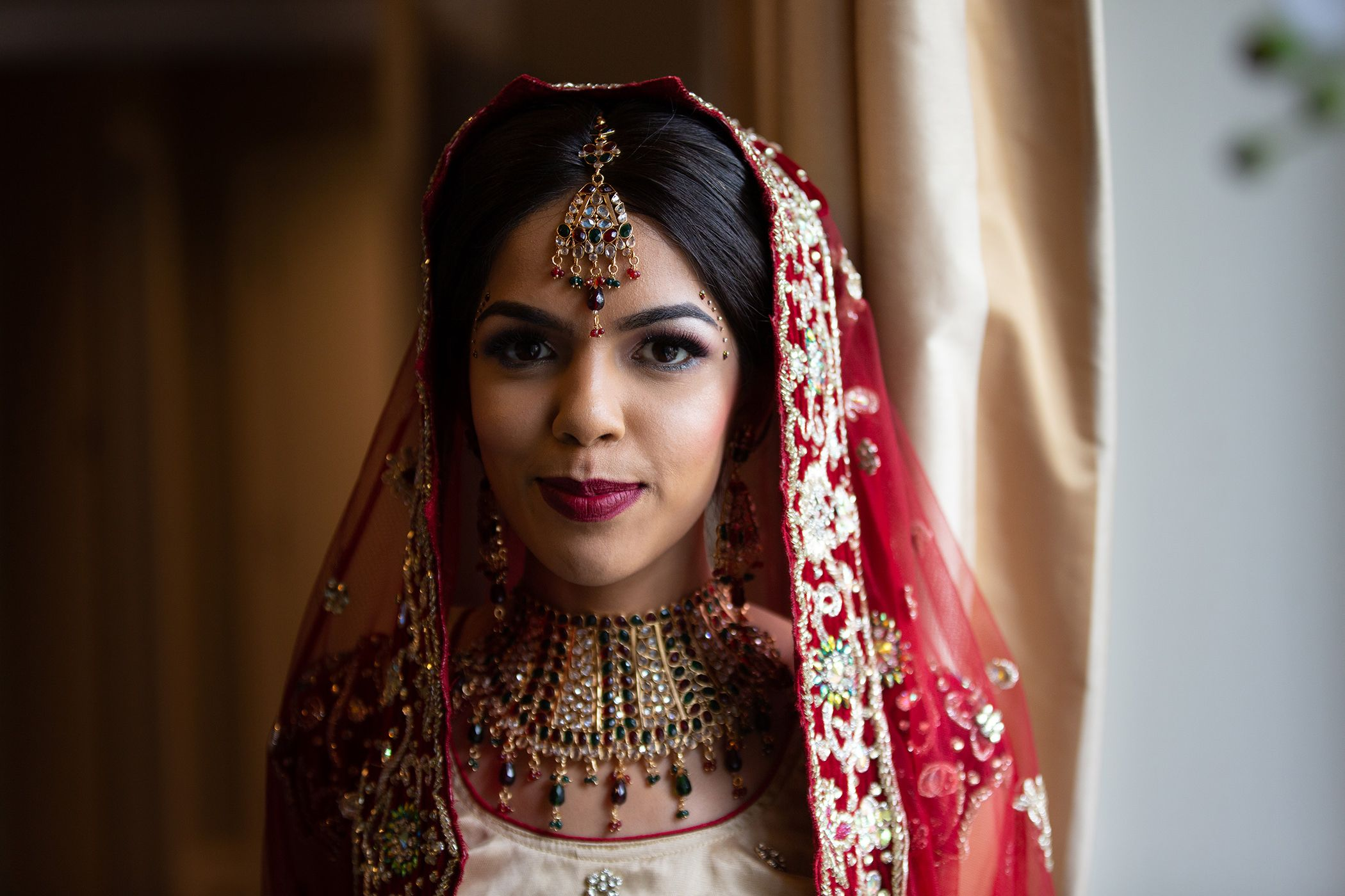 Beautiful Indian Bride Cheshire