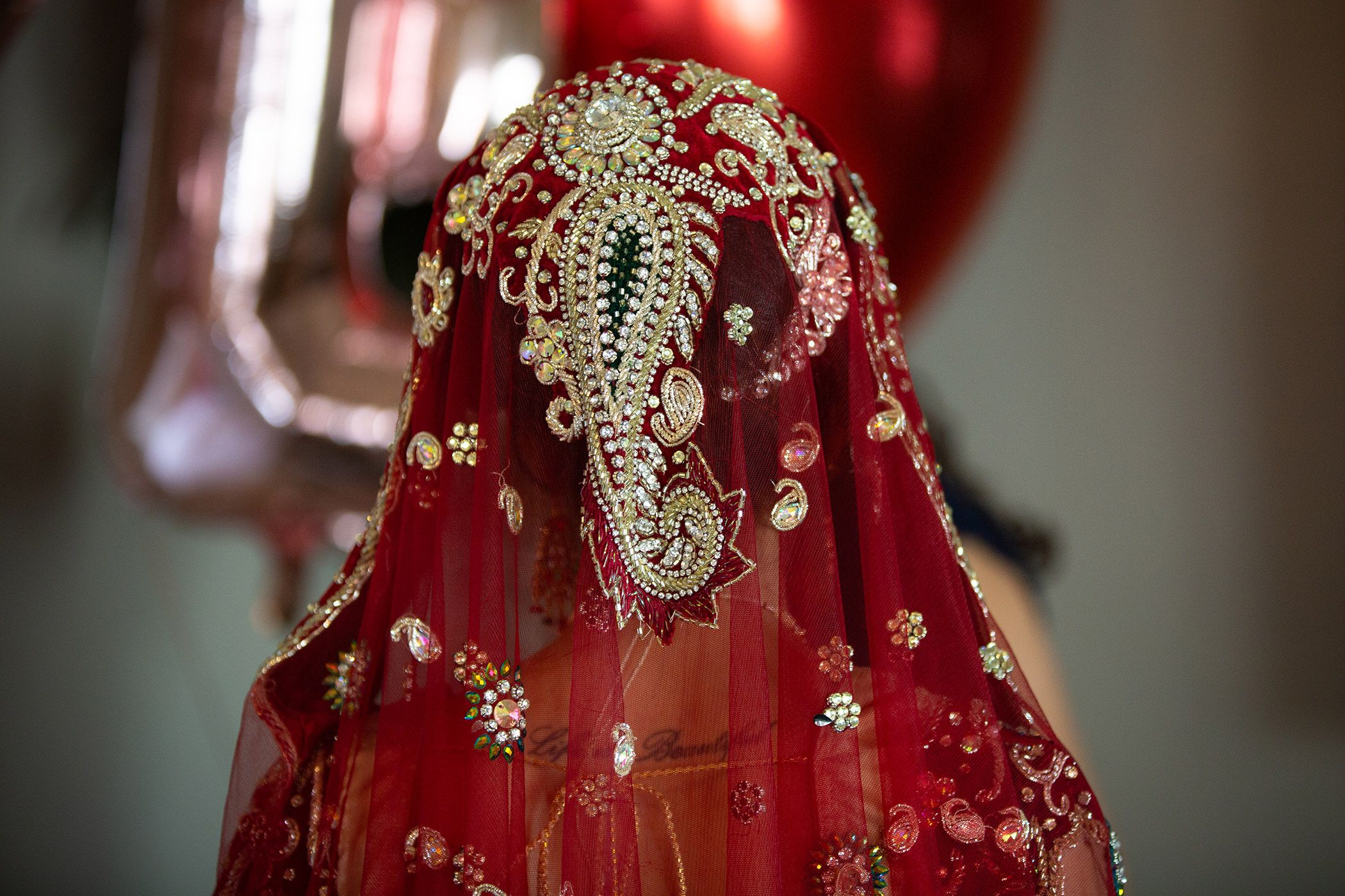 Indian Bride Headdress