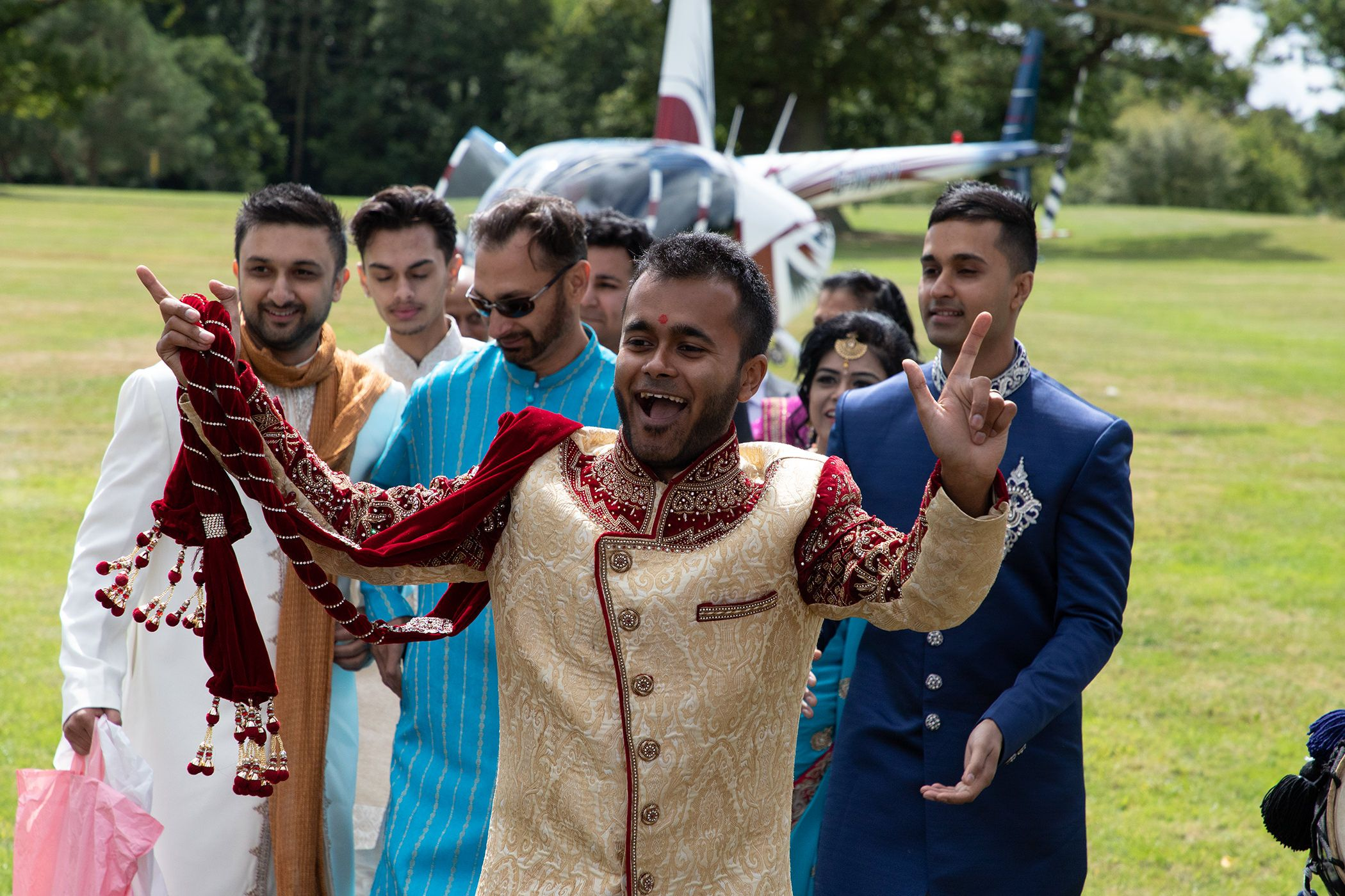 Indian wedding cheshire