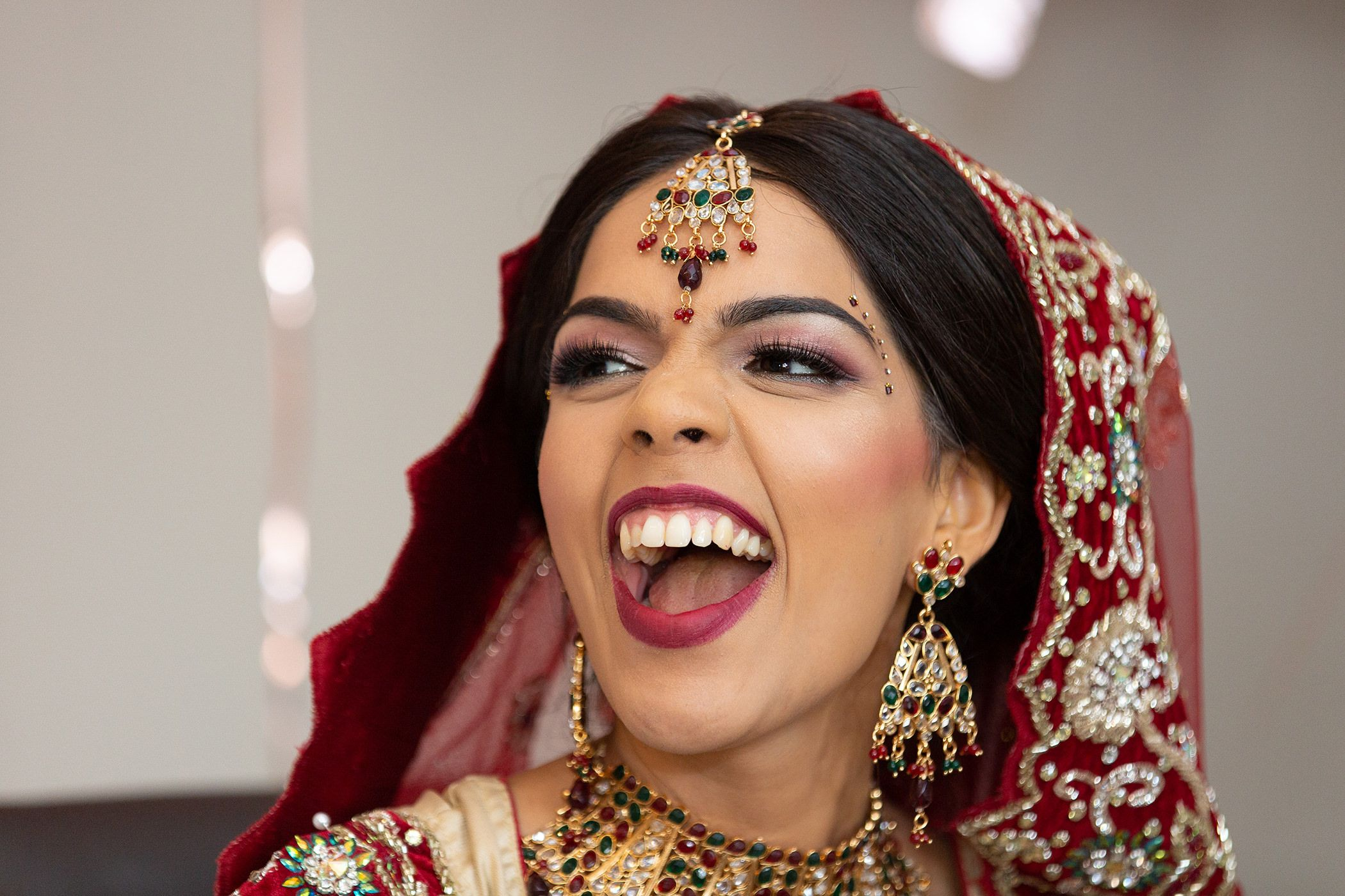 Sonya Indian Bride having fun