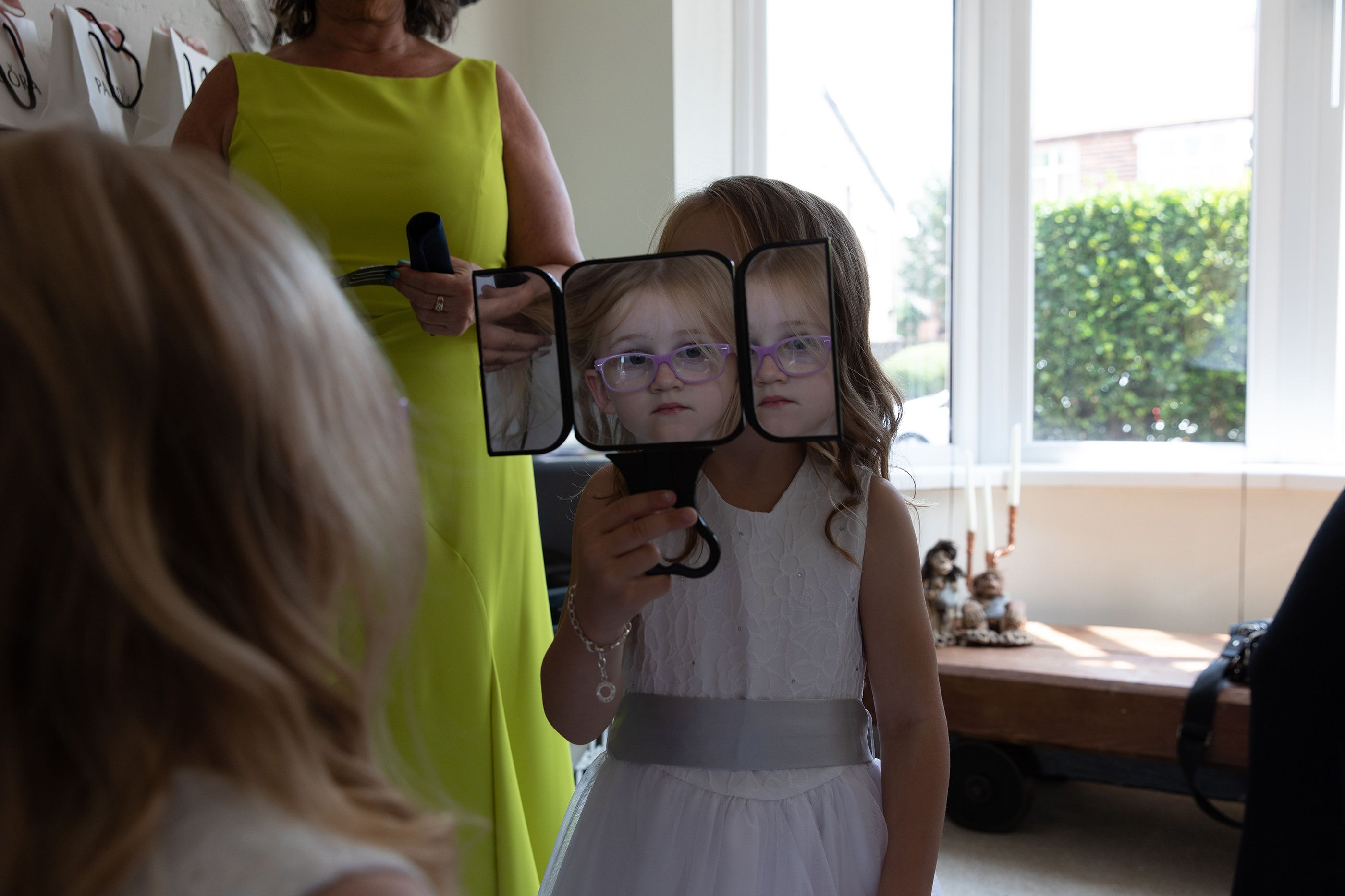 reflections of a flower girl