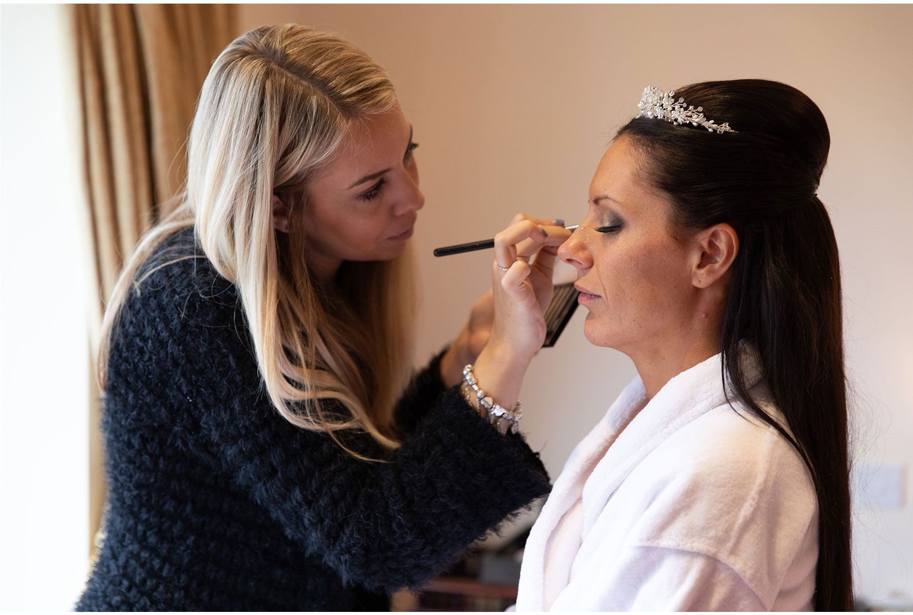 make up artist at the langdale chase hotel