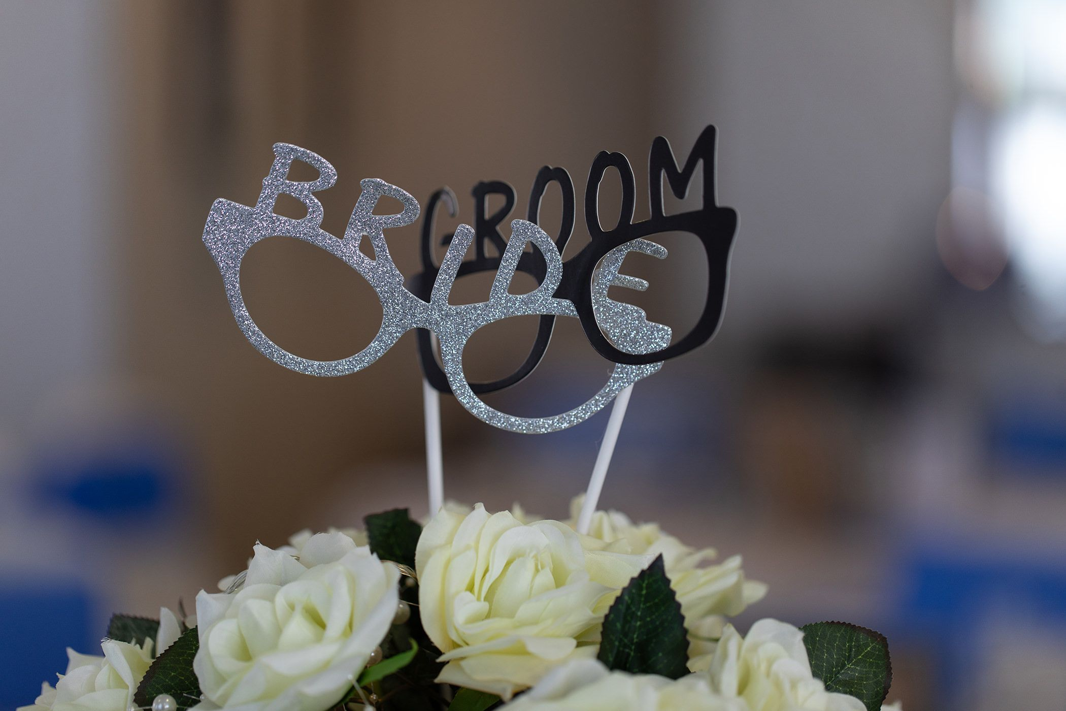 bride and groom decorations