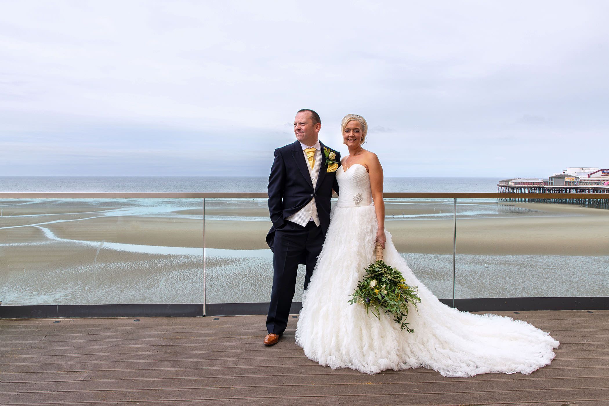 blackpool sea view wedding