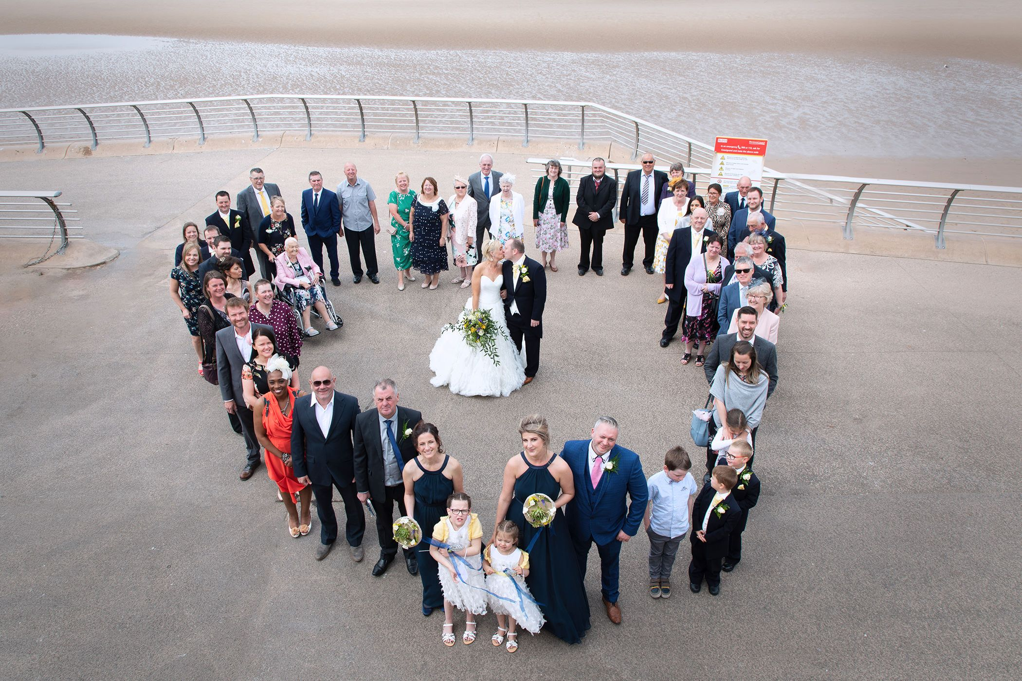 the big group wedding photo