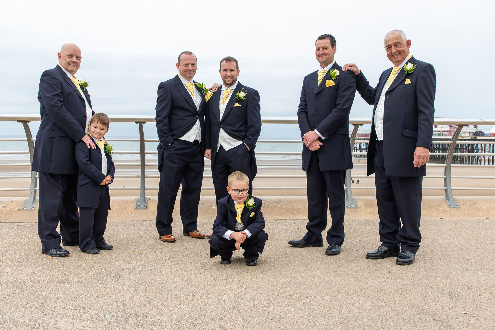 the men with the groom