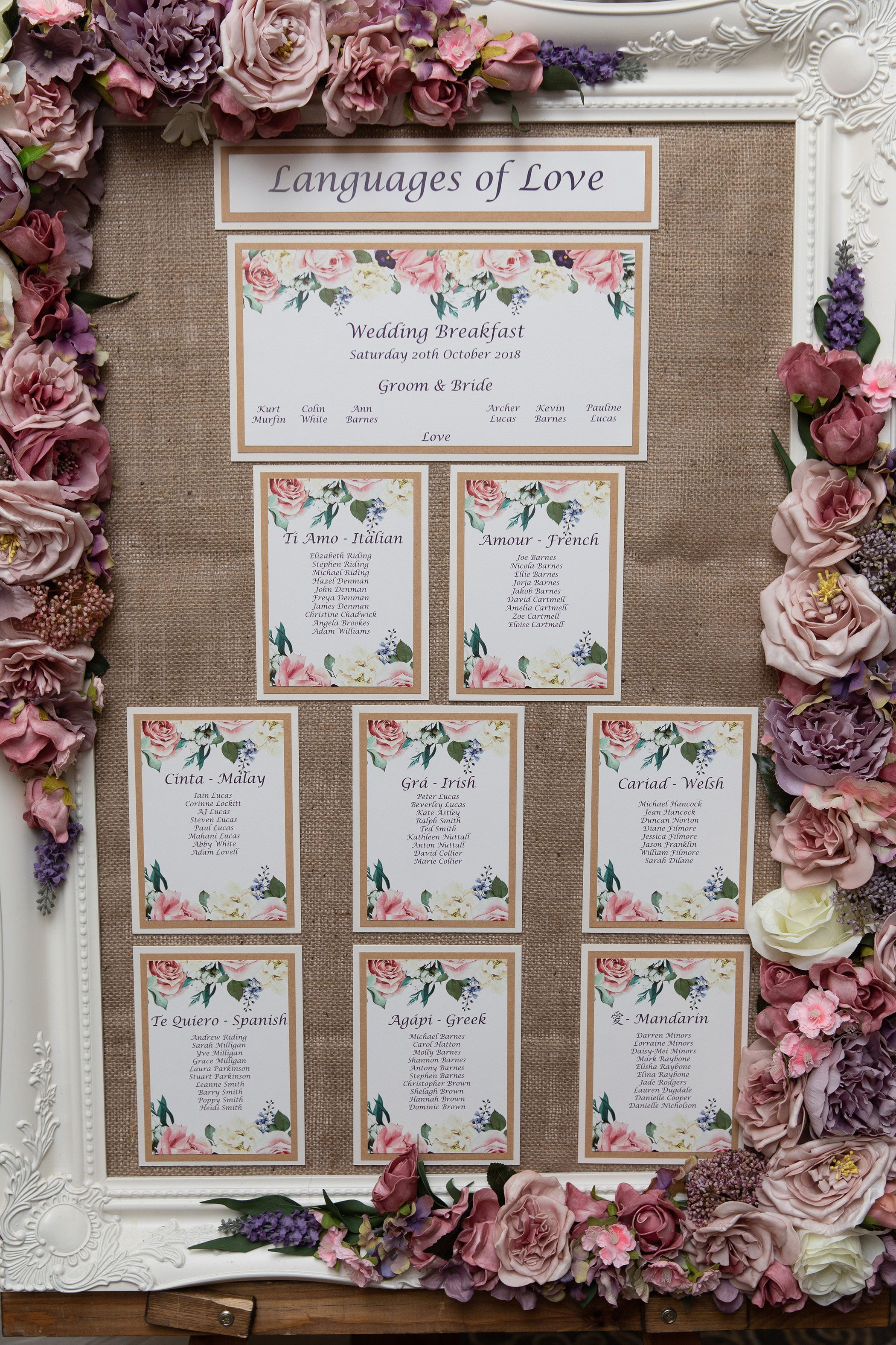 wedding decoration details