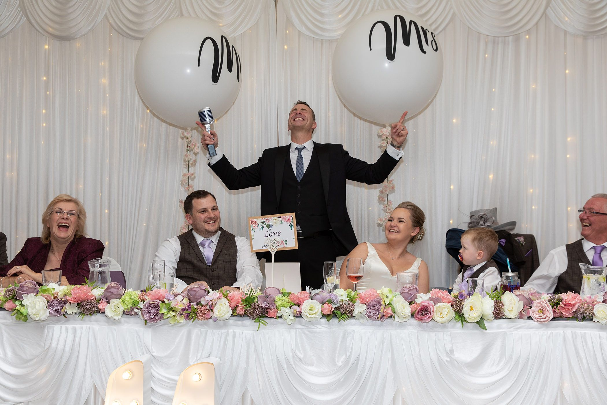 howard wing wedding entertainer